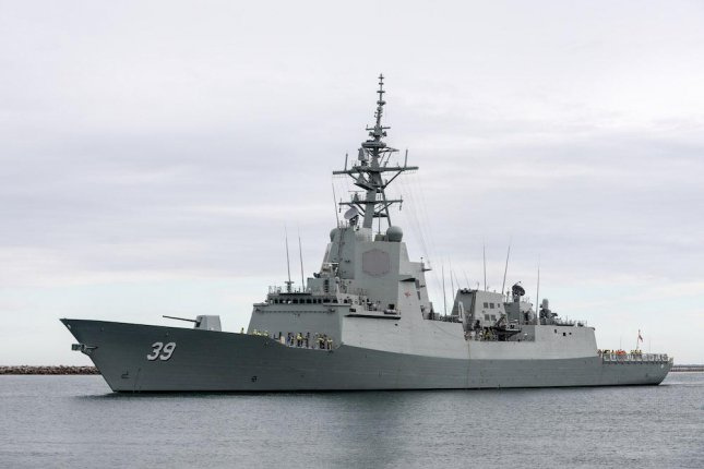The HMAS Hobart air warfare destroyer, one of several vessels in the Royal Australian Navy running the AEGIS weapons system, which will be maintained by Lockheed Martin, according to an announcement by the U.S. Department of Defense. Photo courtesy of the Royal Australian Navy