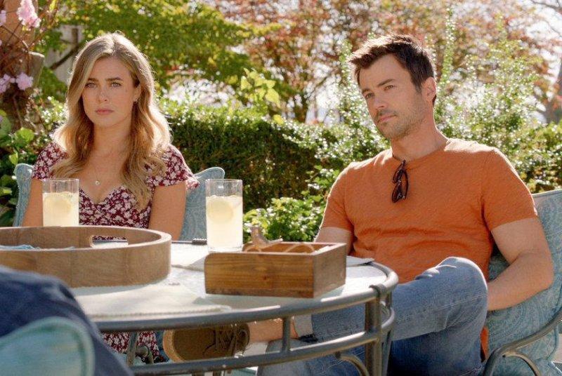 Melissa Roxburgh (L) and Matt Long in Manifest. Season 3 starts on Thursday. Photo courtesy NBC