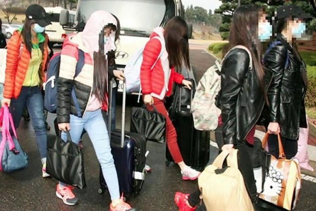 Twelve North Korean waitresses who defected to the South in 2016 should return to the North, a Japan-based body said Monday. File Photo courtesy of Republic of Korea Ministry of Unification