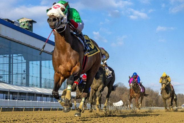 Share the Ride wins Saturday's Grade III General George Stakes at Laurel Park in Laurel, Md. Photo courtesy of Maryland Jockey Club