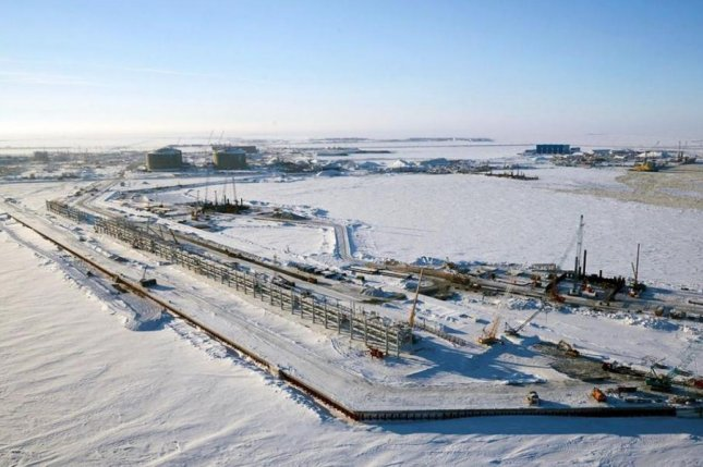 French energy company Total says LNG is ready to leave a facility on an Arctic peninsula in Russia. Photo courtesy of Novatek