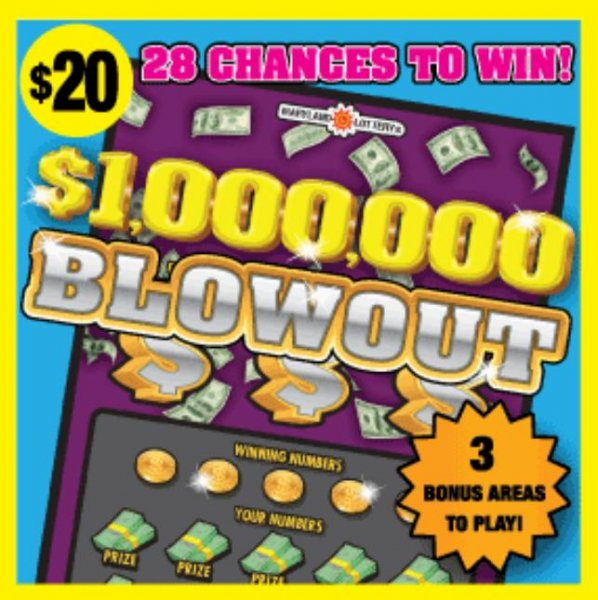 A Maryland man said his $50,000 lottery prize is partially the result of a novel written by his friend. Image courtesy of the Maryland Lotter