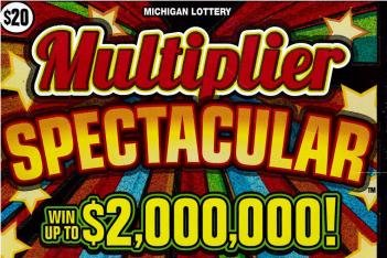 A Michigan couple said a scratch-off ticket worth $2 million nearly ended up being thrown away as a loser. Photo courtesy of the Michigan Lottery
