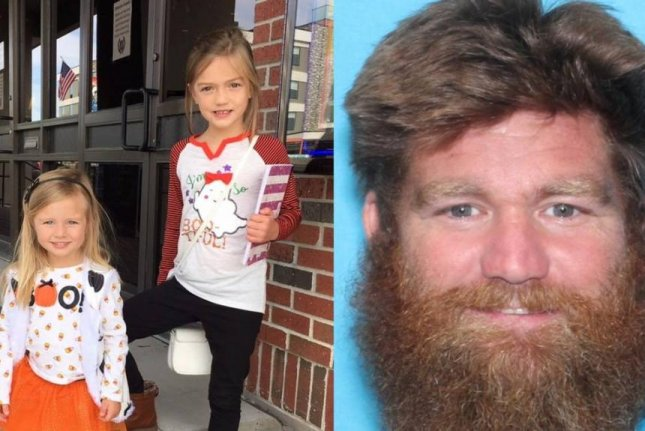 Donny Jackson, 40, was arrested Saturday in Oklahoma following an AMBER alert after his two daughters, age 7 and 3, were discovered missing and their two older brothers were found dead in their Leavenworth, Kan., family home. Photo courtesy of the Kansas Bureau of Investigation