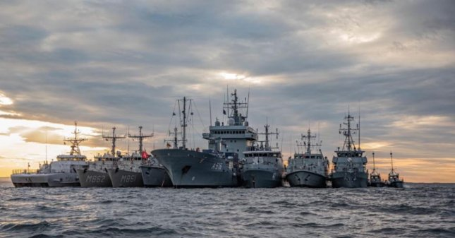 NATO's BALTOPS 50 air and maritime exercise, involving 18 NATO and partner nations, begins on June 6, the U.S. Navy announced on Monday. Photo courtesy of Standing NATO Maritime Group 1