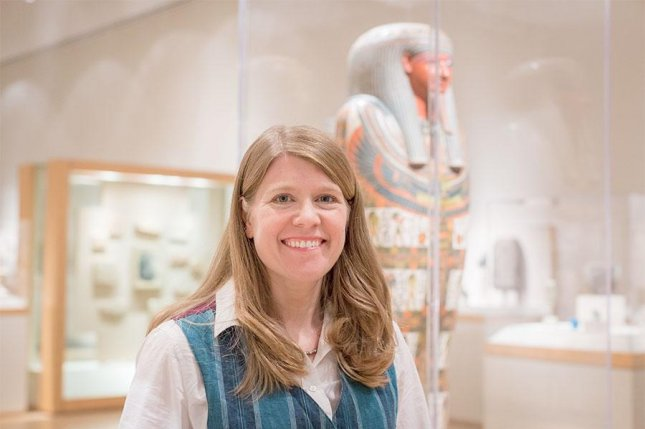 Space archaeologist Sarah Parcak was awarded $1 million as the winner of the 2016 Ted Prize. Photo by UAB