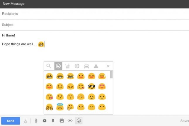 Google announced Thursday it is doing away with their so-called blob emojis. Later this year they will be replaced with more traditional round emojis like the ones seen on Apple and Android devices. Screen Shot courtesy Google