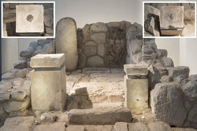 Researchers discovered the remnants of cannabis and frankincense on a pair of altars found in an ancient Israeli shrine. Photo by Collection of the Israel Antiquities Authority/The Israel Museum/Laura Lachman
