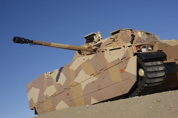 The memory metal system will theoretically allow combat vehicles to bounce back after impact. Photo courtesy BAE Systems