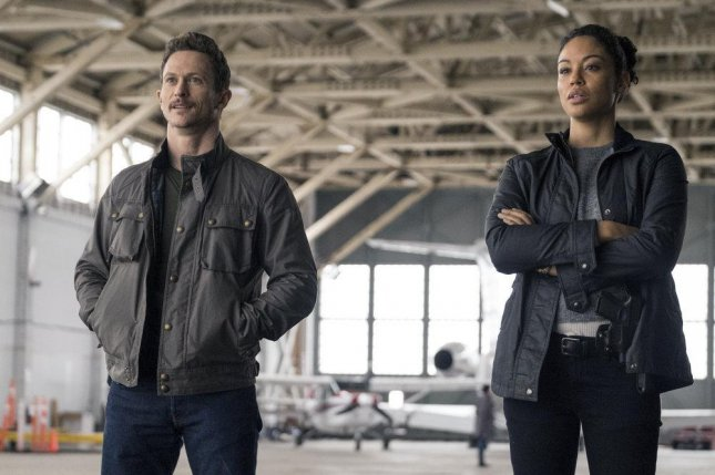 Bryan (Jonathan Tucker) and Finola (Riann Steele) team up to investigate Debris. Photo courtesy of NBC