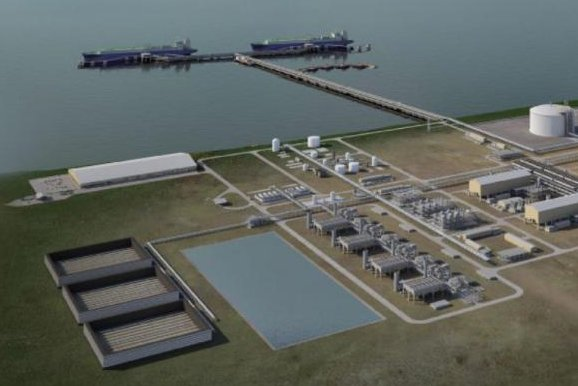 BP reaches a sales agreement that helps fill an Alaskan liquefied natural gas project. Image courtesy of the Alaska Gasline Development Corp.
