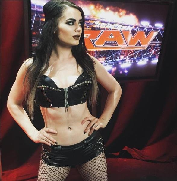 WWE Superstar Paige has been suspended by WWE for 30 days following a violation of the company's wellness policy. Photo courtesy of Paige/Instagram