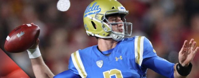 Former UCLA quarterback Josh Rosen is expected to be drafted early in the first round. Photo courtesy of the Buffalo Bills/Twitter