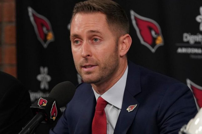 The Arizona Cardinals hired Kliff Kingsbury in January, after he was fired at Texas Tech. Photo courtesy of the Arizona Cardinals/Twitter
