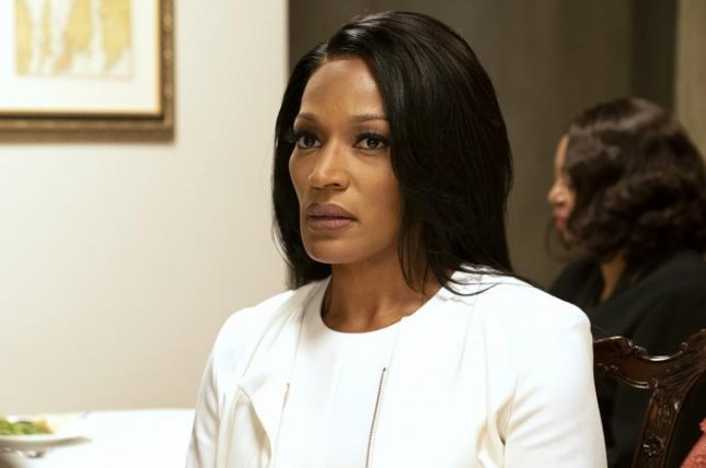 Kron Moore stars as first lady Victoria Franklin on Tyler Perry's The Oval. Photo courtesy of BET