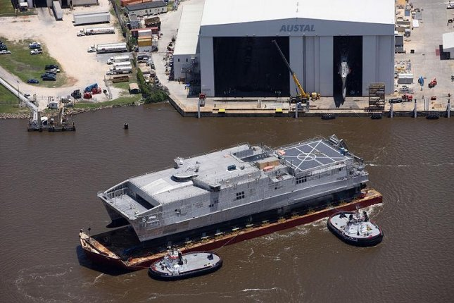 Navy accepts delivery of USNS Burlington Expeditionary