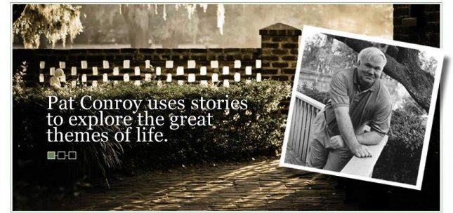 Image courtesy of Pat Conroy's website
