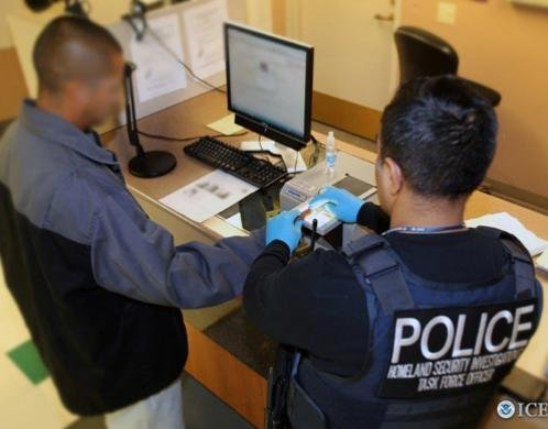 The U.S. Immigration and Customs Enforcement's Homeland Security investigations agency announced Monday 1,133 arrests were made during the five-week Project Shadowfire, targeting gang members. Photo courtesy of ICE