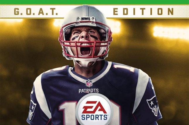 Super Bowl LI MVP Tom Brady is on the cover of Madden NFL 18. The New England Patriots also had the cover athlete on Madden NFL 17, with tight end Rob Gronkowski. Photo courtesy of Electronic Arts.