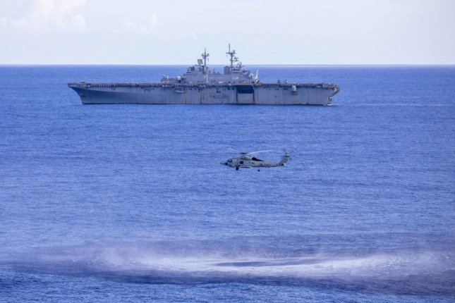 The Navy is set to wrap Exercise Black Widow 2020 Friday. Photo courtesy of U.S. Navy