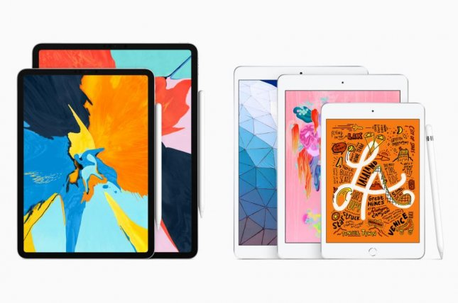 The new iPad Air and iPad mini tablet devices are expected to be available in stores next week. Photo courtesy of Apple