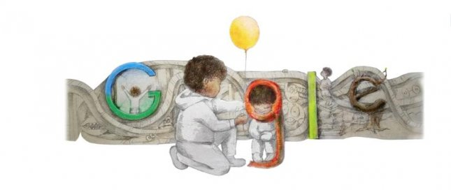 Student Milo Golding of Kentucky has won the 2021 Doodle for Google contest. Image courtesy of Google