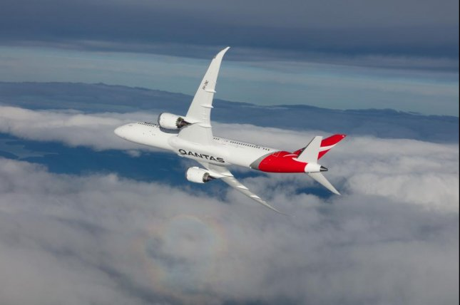 For the first time, Qantas is testing a Boeing 787-9 nonstop between New York's JFK Airport and Sydney, Australia. Photo courtesy Qantas