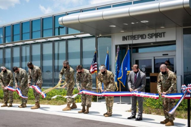 Eglin Air Force Base, Fla., on Thursday opened its new Intrepid Spirit Center for treatment of brain injuries to active duty soldiers. Photo by Ilka Cole/U.S. Air Force