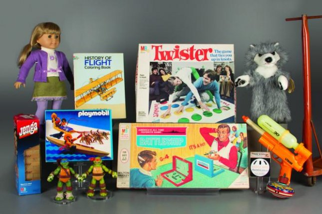 The finalists for 2015 induction into the National Toy Hall of Fame. Photo courtesy Courtesy of The Strong National Museum of Play