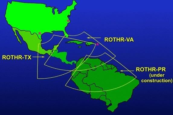 Raytheon Gets Contract For Counternarcotics Radar System UPIcom - Raytheon over the us map