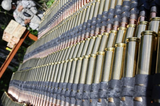 U.S. Army orders .50 caliber, 5.56mm and 7.62mm ammunition from Orbital ATK. U.S. Army photo by Percy Jones
