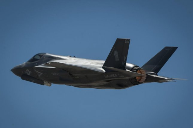 Britain contracts MBDA to equip its F-35 aircraft with new Advanced Short Range Air-to-Air Missiles. Pictured, an F-35B takes off from the Nellis Air Force Base, Nev. U.S. Air Force photo by Senior Airman Jake Carter