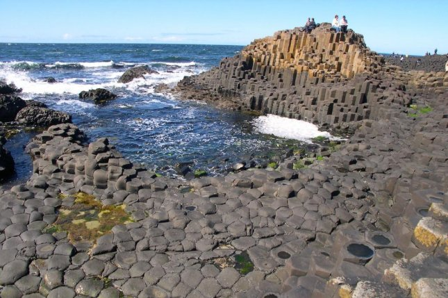 The Giant's Causeway in Northern Ireland features thousands of basalt columns. Photo by code poet/Flickr
