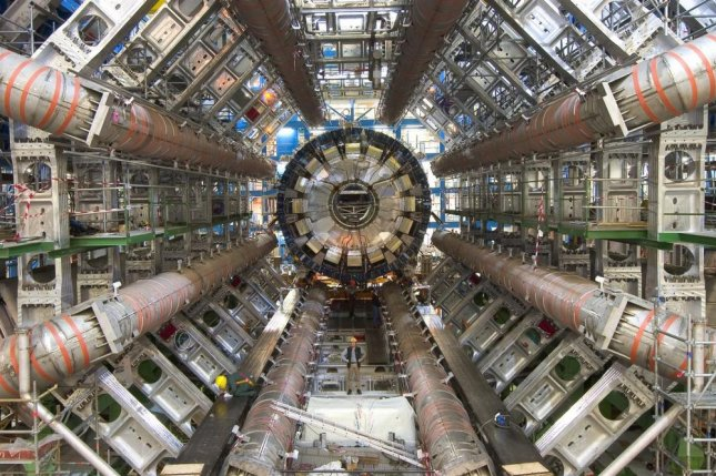 The ATLAS detector at CERN's LHC facilities in Switzerland. Photo by Maximilien Brice/Wikimedia Commons