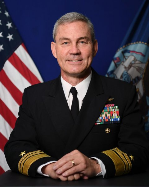 Navy Vice Adm. Scott Stearney was found dead in his residence in Bahrain, Naval Operations Adm. John Richardson announced Saturday. Photo courtesy U.S. Navy