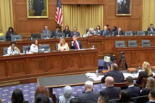 A joint hearing of House committees heard witnesses Tuesday on the Trump administration's travel ban. Image via video screengrab/Religion News Service