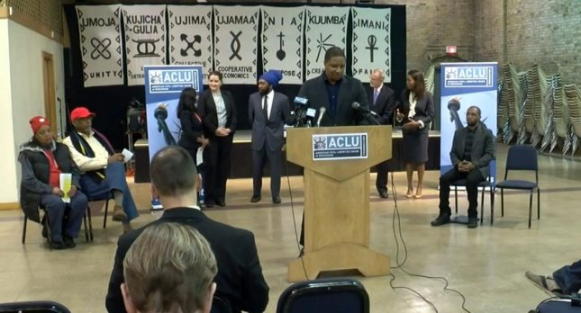The ACLU on Wednesday filed a class action lawsuit against the Milwaukee Police Department alleging the use of unconstitutional stop-and-frisk tactics as a method to lower crime in high-crime parts of the city. Photo by WTMJ-TV