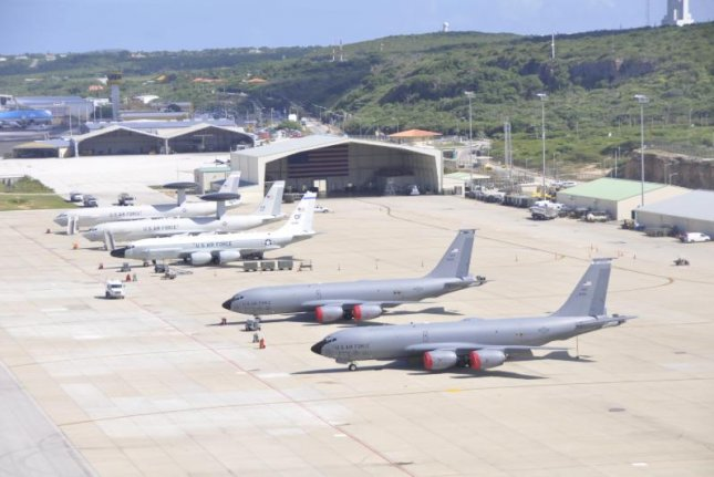 The Cooperative Security Location, pictured, at the airport in Willemstad, Curacao, will be the site of deployment of 200 airmen and four planes for counternarcotics operations, the U.S. Southern Command announced on Friday. Photo courtesy of U.S. Air Force