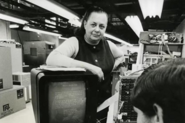 Evelyn Berezin created the world's first true word processor, the Data Secretary, in 1971. Photo courtesy Computer History Museum