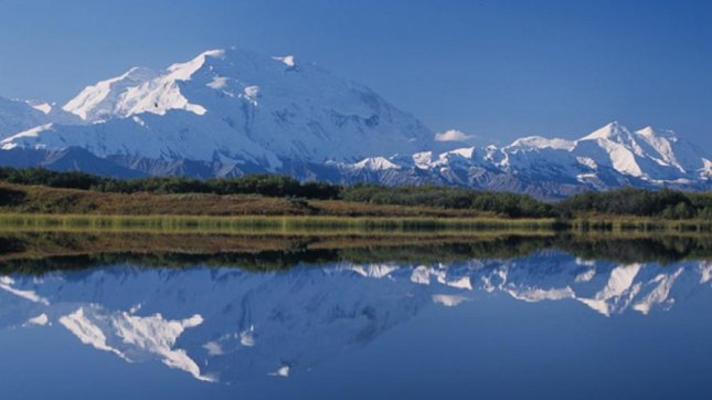 Mount McKinley, North America's tallest mountain, in Denali National Park, Alaska. (CC/Ryan Holliday)
