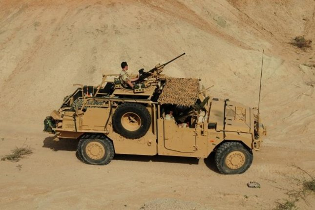 Renault's Sherpa, used by French Special Forces. Photo by Renault Trucks Defense
