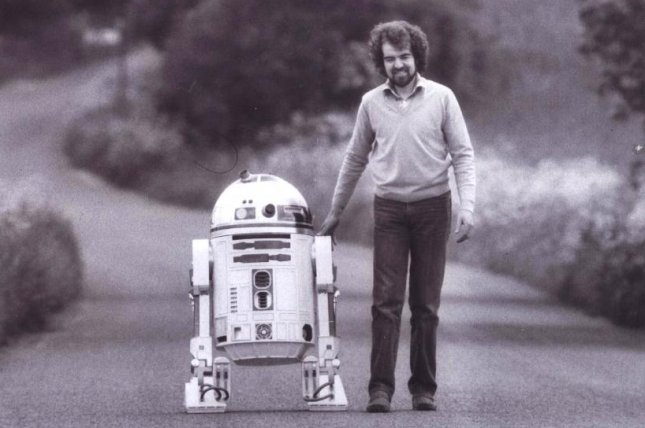 Tony Dyson, builder of the original Star Wars R2-D2, was found dead by police on the Maltese island of Gozo. He was 68 years old. Photo courtesy of TonyDyson.com
