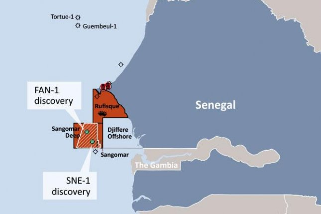 Australian energy company FAR Ltd. says a prospect offshore Senegal meets minimum requirements for a commercial reserve. Image courtesy of FAR Ltd.