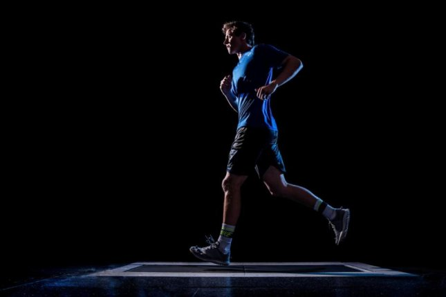 A recent study found that runners should use their own, natural stride when running for optimal benefit. Photo courtesy Brigham Young University