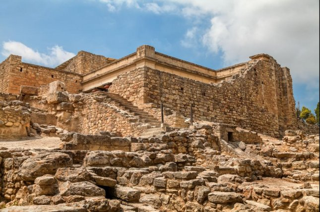 The Palace of Knossos, imaged on the Greek island of Crete. Researchers say new findings suggest the ancient city was richer and bigger than previously thought. Photo by Soloviev Andrey/Shutterstock