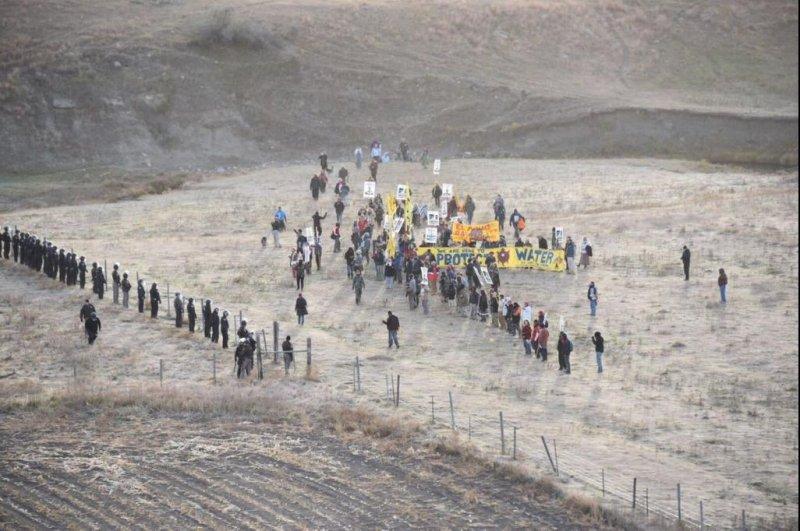 83 arrested at Dakota Access pipeline protest
