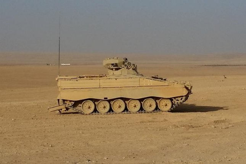 rheinmetall upgrading marder vehicles for jordan delivery