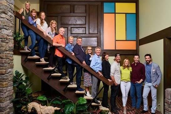 The stars of The Brady Bunch recently reunited for the docu-series A Very Brady Renovation. A holiday special is set to air on Dec. 16. Photo courtesy of HGTV