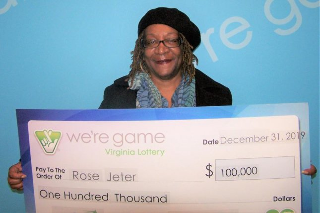 A Virginia woman won $100,000 using lottery numbers that came to her in a dream. Photo courtesy of the Virginia Lottery