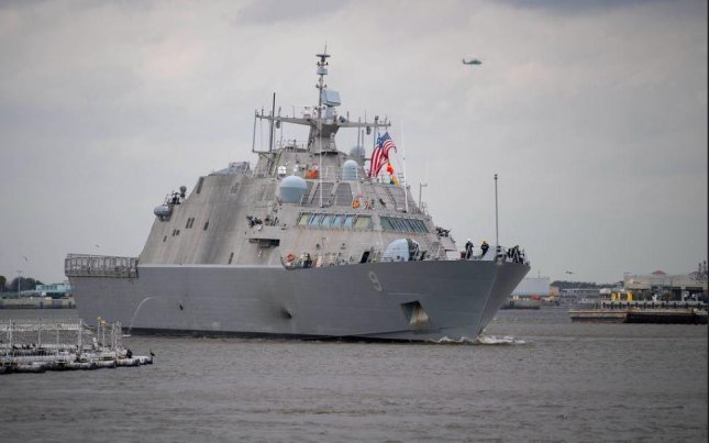 The U.S. Navy identified 32 key upgrades to its fleet of beleaguered littoral combat ships, including the USS Little Rock, pictured. Photo by MCS2 Devin Bowser/U.S. Navy